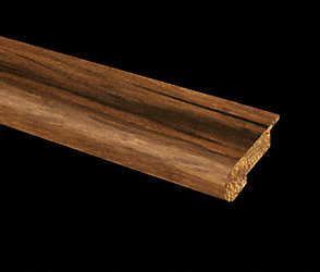 Prefinished Strand Antique Bamboo Stair Nose